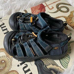 Keen waterproof outdoor hiking blue canvas sandals